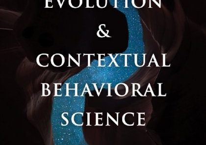 Evolution and Contextual Behavioral Science book cover
