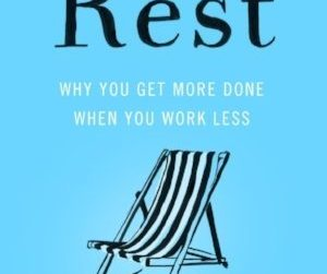 Book cover Rest by Dr. Alex Pang
