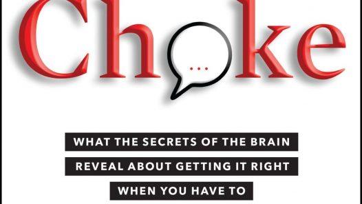 Choke by Sian Beilock book cover