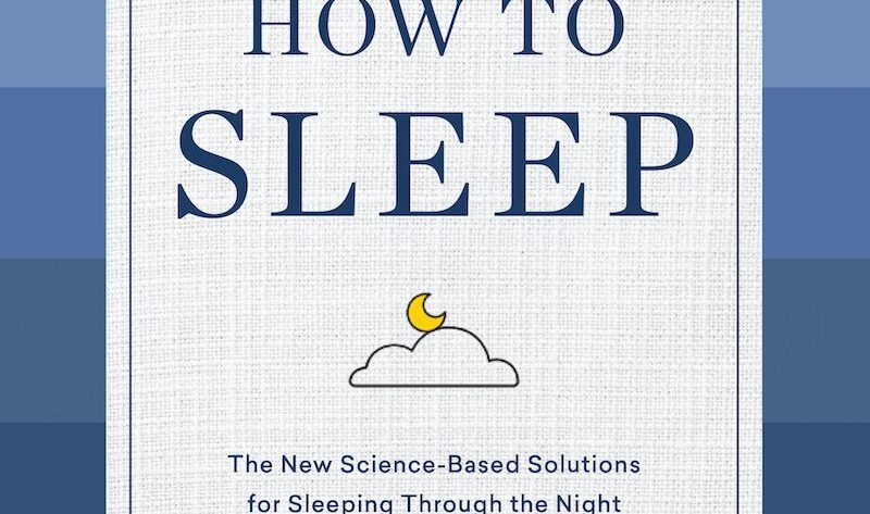 How to Sleep by Dr. Rafael Pelayo bookcover